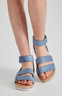 paris boho pastel vegan leather espradrille sandals