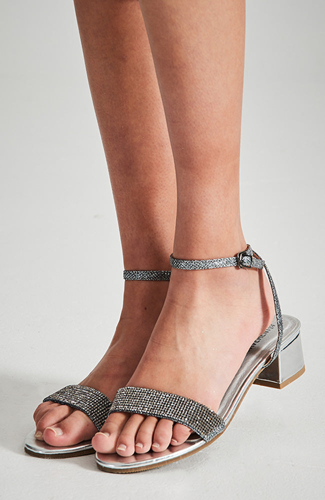 Night Sky Modern Party Heel Sandal