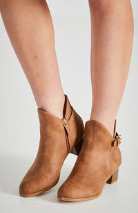 sorrento buckle short boot
