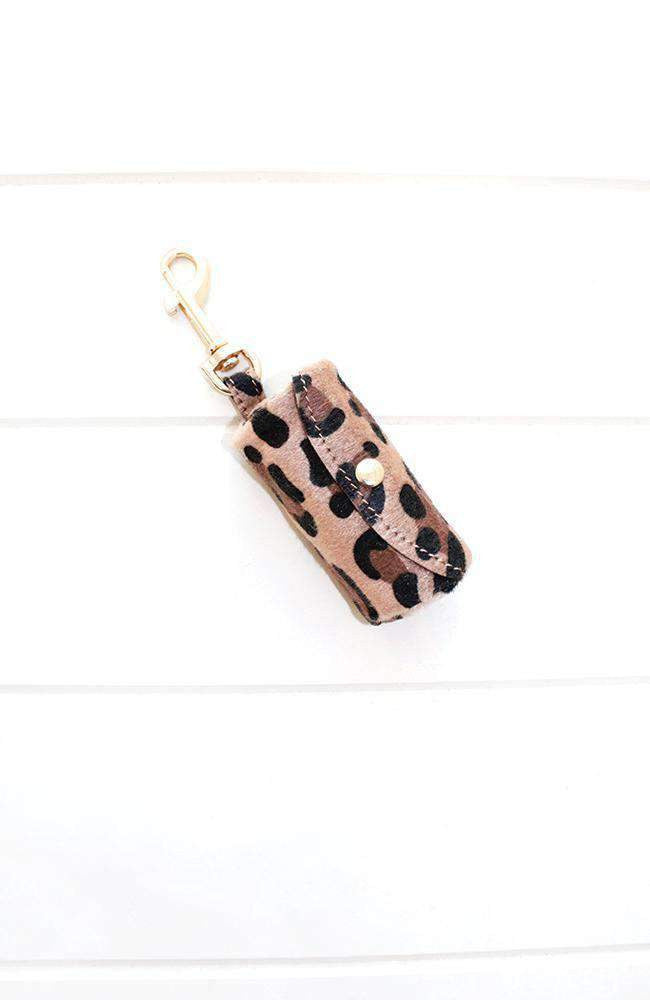 leopard pooh bag holder