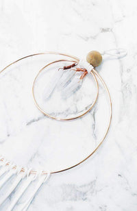 rose gold dreamcatcher