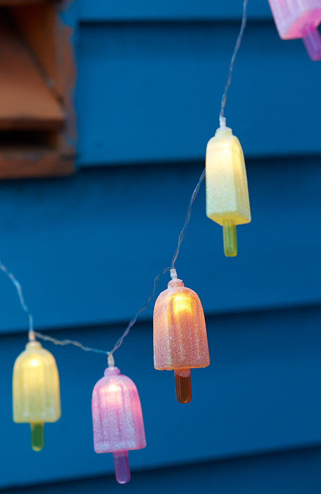 popsicle fairy lights
