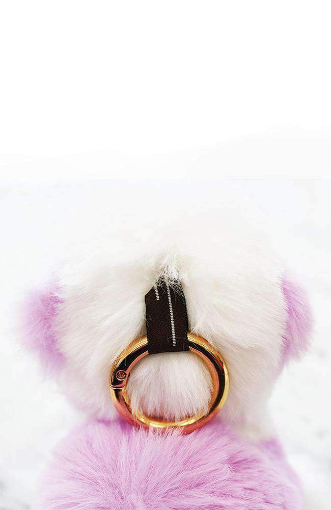 Ffuffy lhama collectible keyring