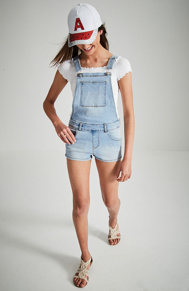 camilla light denim overall