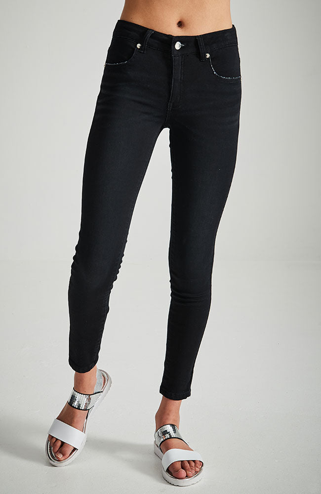 jennifer black high waisted distressed jean