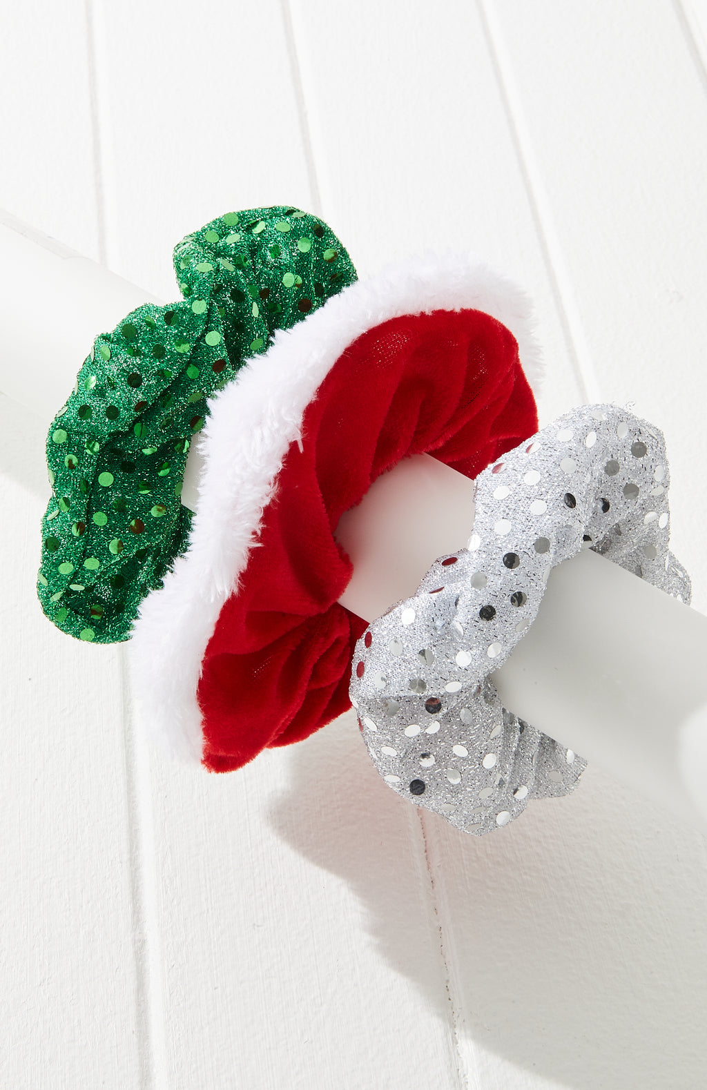 Festive Scrunchies Set