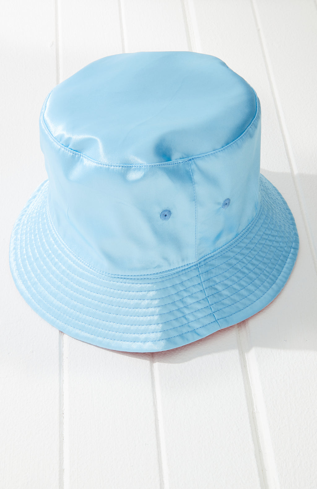 Satin Reversible Bucket Hat