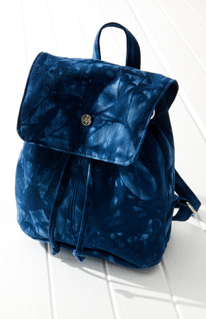 tie dye mini backpack