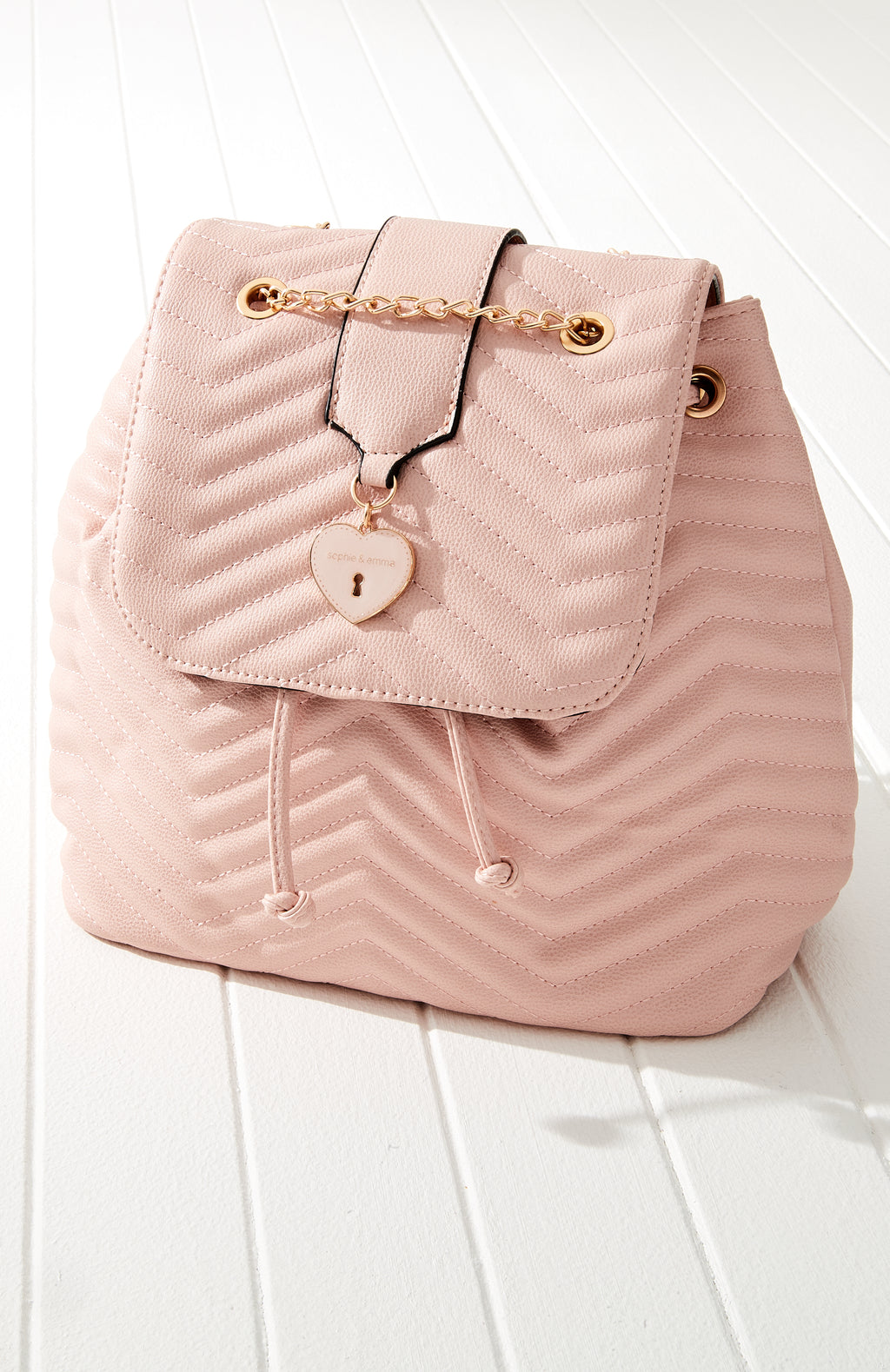 AS995308 Quilted Heart Backpack