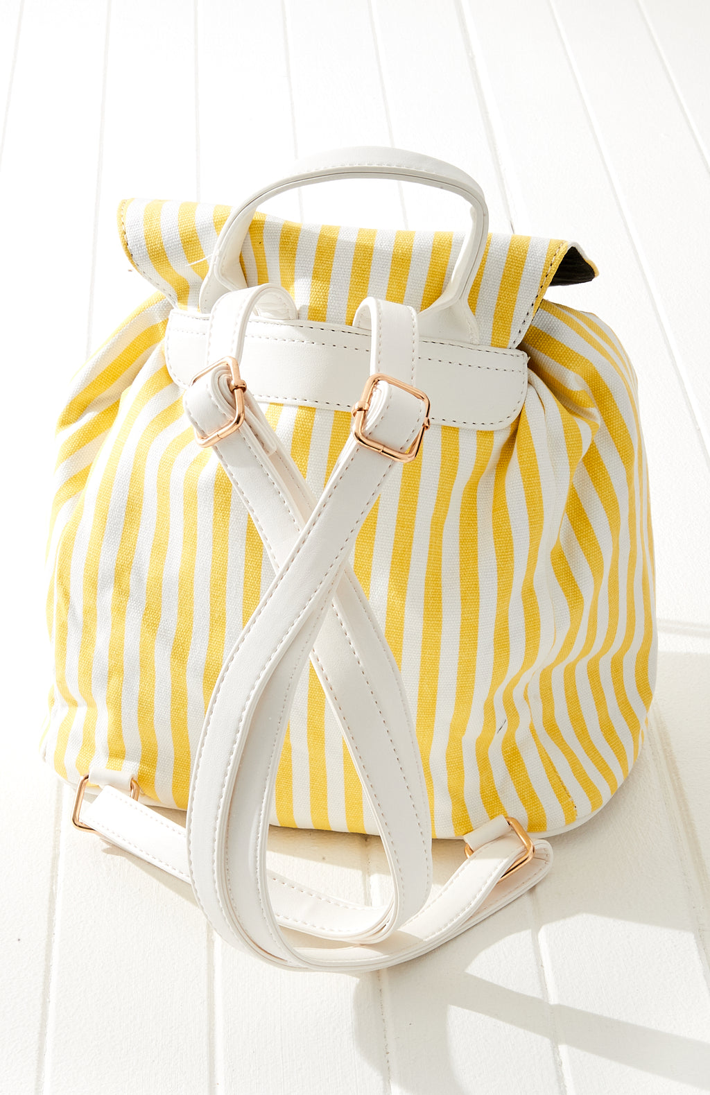 Vintage Stripes Rainbow Backpack