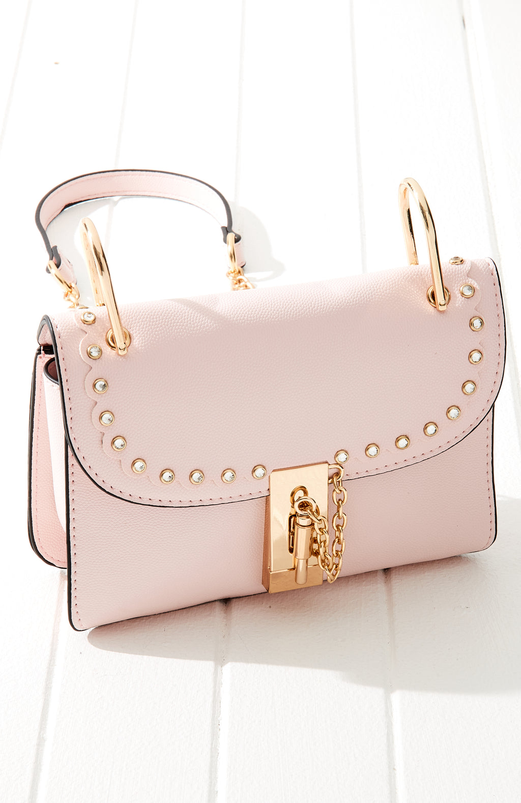 diamond lock pastel vegan leather boho crossbody bag