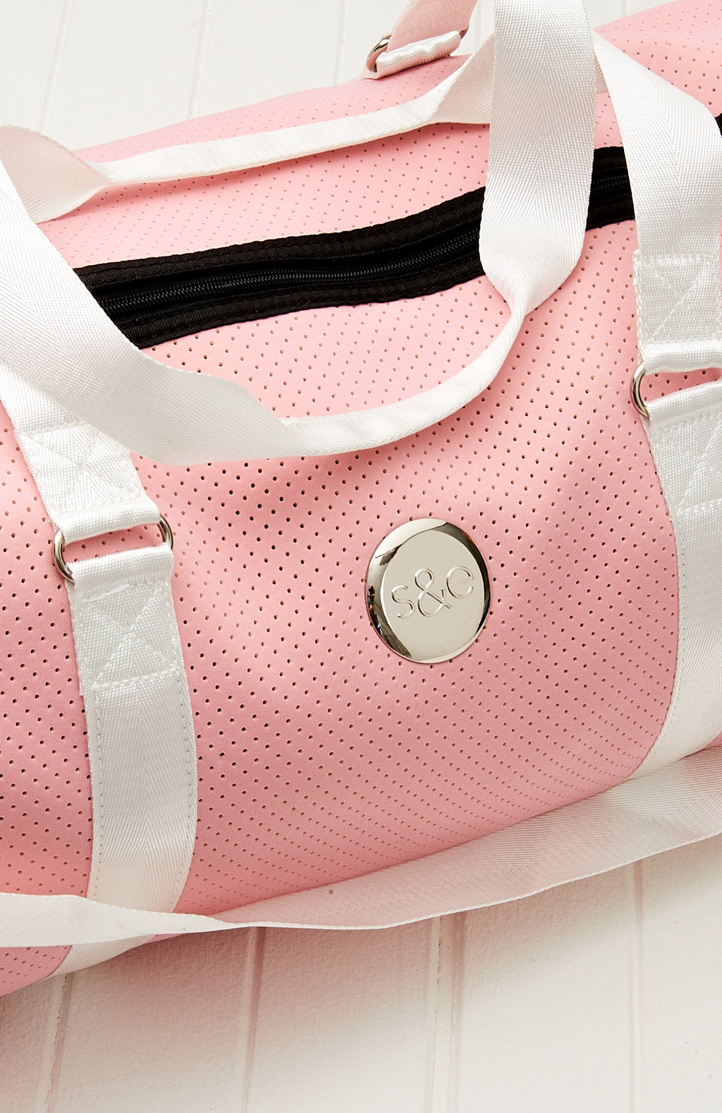 Neoprene Duffle Weekend Tote Travel Bag