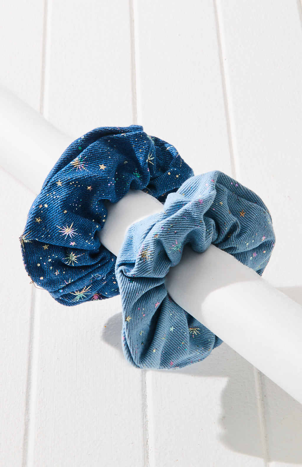 starry night scrunchies