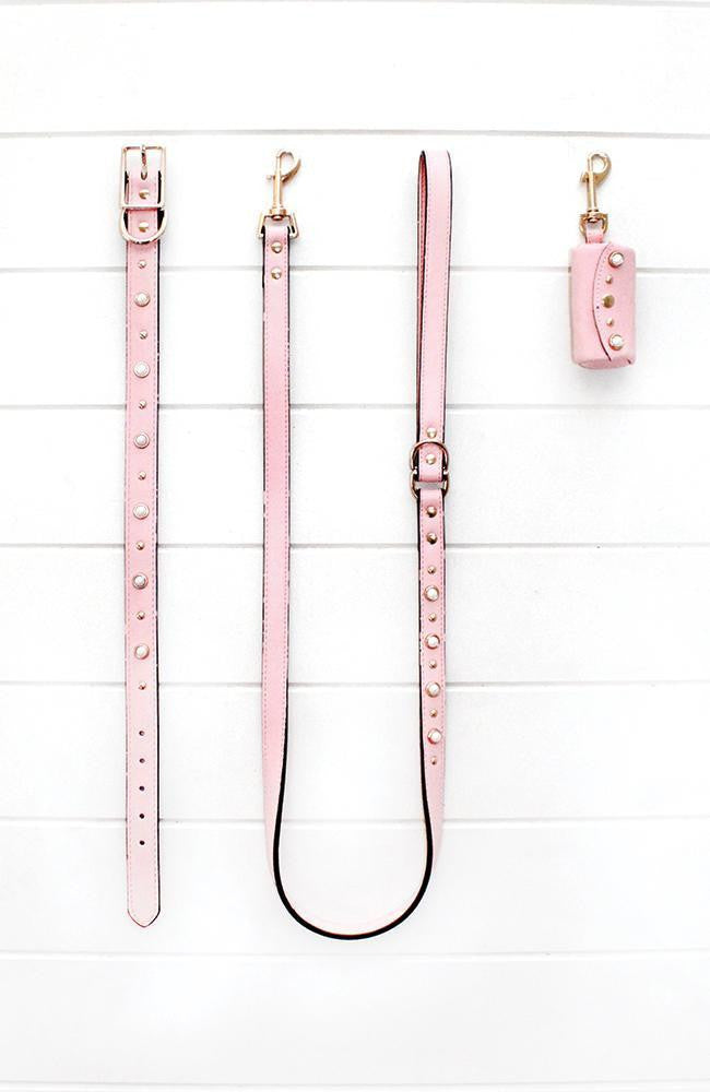 pink with pearl pooh bag holder