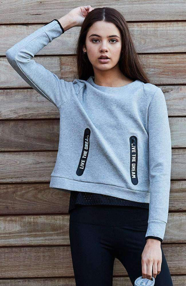 live the dream sweat top