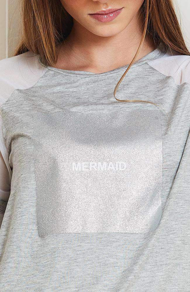 square mermaid tee