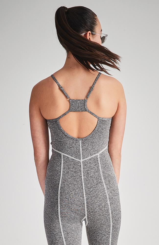 adore grey active jumpsuit