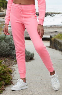 bree neon pink girls active sweat pant