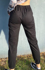 taylor black girls stretch cargo pant