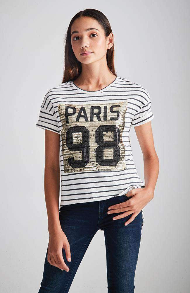 paris stripe tee
