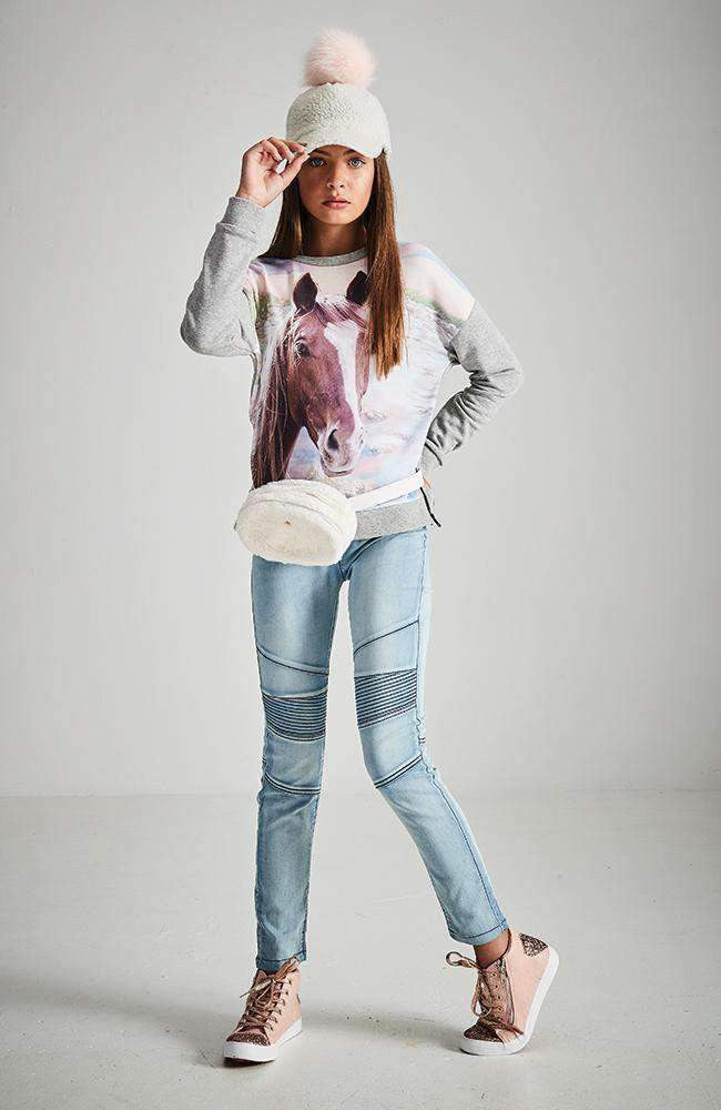 aa1d8a8b9454 2nd pair of girls denim jeans or jeggings for $20