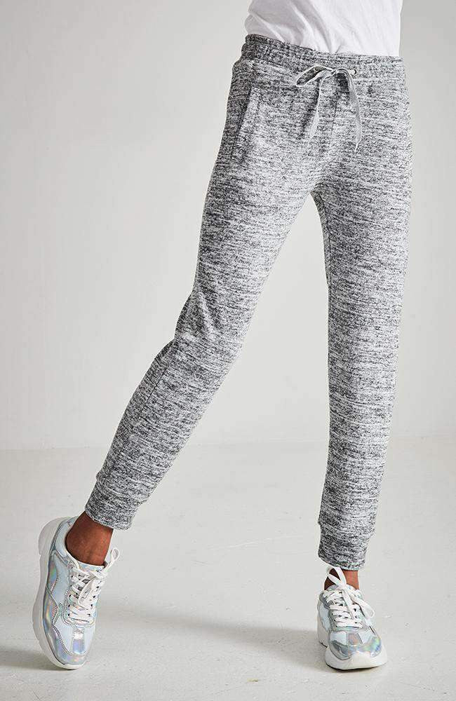 maddison grey marle relaxed active sweat pant
