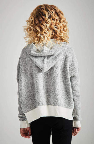 darcy hooded knit