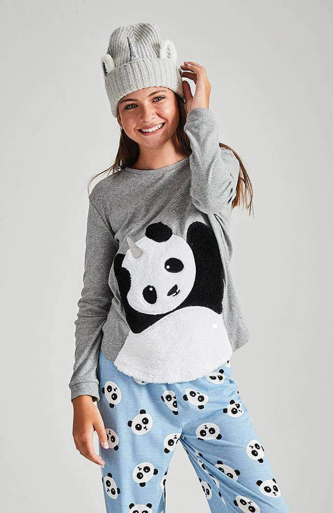 pandicorn panda pyjama lounge top