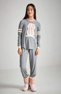 striped bunny lounge pant