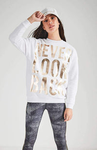 never look back sweat
