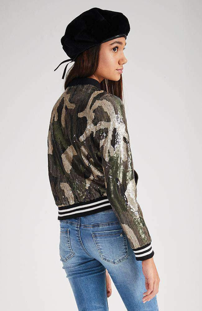 2416d57b7bff4 kristy camo sequin bomber jacket
