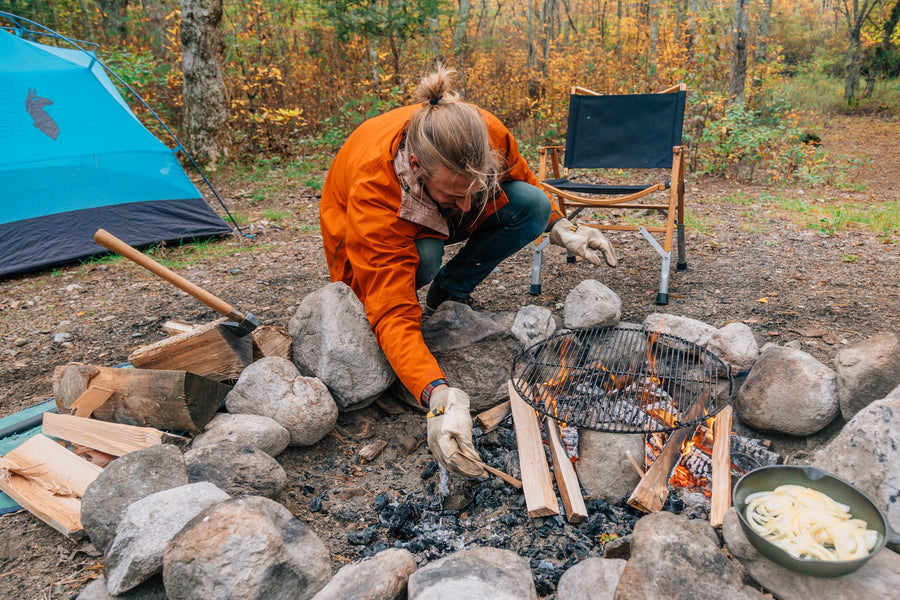 How to Grill Over a Campfire
