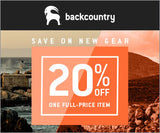 20% Off at Backcountry.com