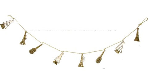 Gold Musical Instruments Garland