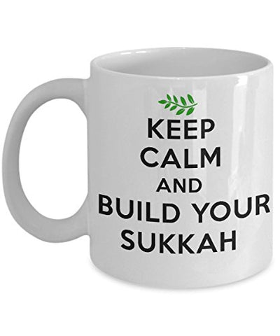 Keep Calm and Build Your Sukkah Mug