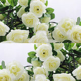 White Rose Garland (3 pcs)