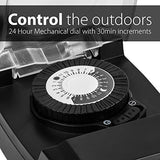 24-Hour Mechanical Outdoor Light Timer