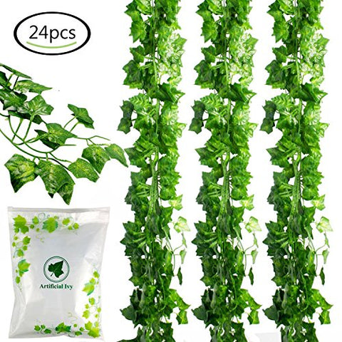 24-pc Artificial Ivy Leaf Garland