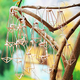 Rose Gold Geometric Fairy Lights, 10'