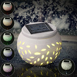 Color Changing Solar Table Lamp