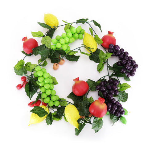 Assorted Fruit Garland - Sieger Sukkah - 1