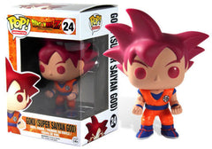 Funko Pop! Animation Dragon Ball Z Battle of the Gods Super Saiyan God Goku Funimation Exclusive