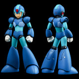 "Megaman ""X"" 4inch-nel MegaMan ""X"" 10 cm talls with lots of joints and features! The feet are equipped with magenets to recreate the classic ""Wall Kick"" scene. Contents: Main figure, Open Hands x 2, X Buster, Face, Base - Make a Preorder with Otaku Toy Collection LLC."
