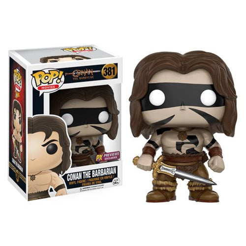Funko Pop Conan the Barbarian War Paint PX Preview Exclusive