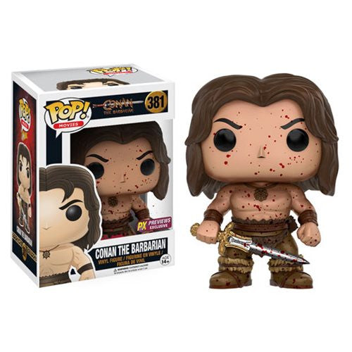 Funko Pop Conan the Barbarian Bloody PX Previews Exclusive