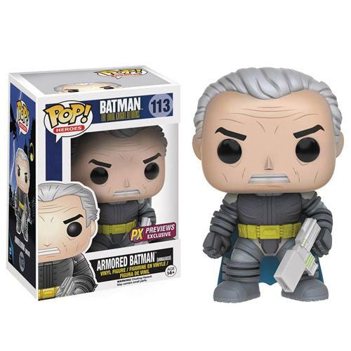 [In-Stock] Funko Pop! DC Comics 113 Dark Knight Returns- Armored Batman (Unmasked) PX Previews Exclusive