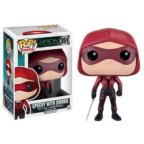 Funko Pop! DC Comics Arrow Speedy With Sword