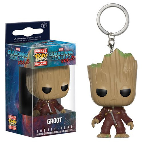 [In Stock] Funko Pop Guardians of the Galaxy Vol. 2 Groot Keychain