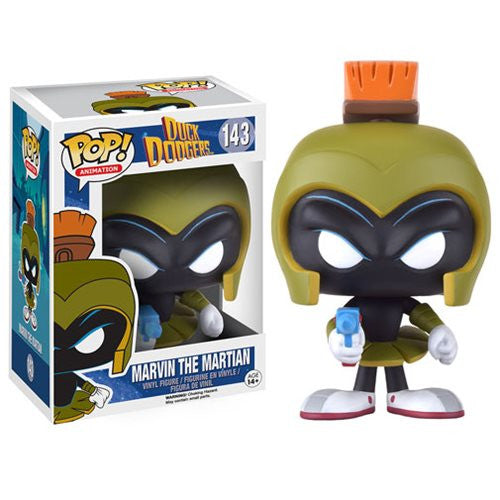 Funko Pop! Duck Dodgers Marvin Martian - Otaku Toy Collection LLC
