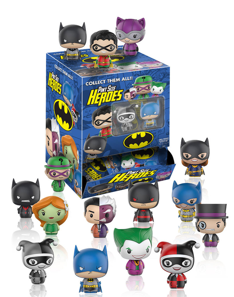 FUNKO DC COMICS PINT SIZE HEROES BATMAN MINI FIGURES